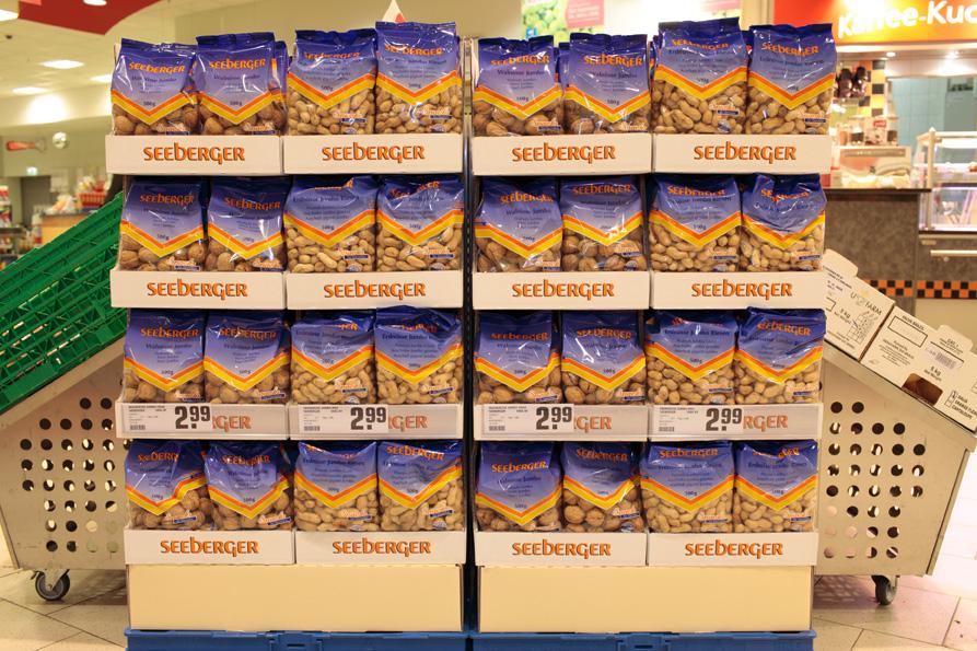 Corrugated examples - Supermarket | Fefco